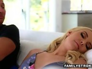 Stepdaughter Shafted with Mom a Feet Away! - HD