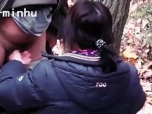Secretly Filming My Dad Fucking My Chinese Stepmom In The Forest