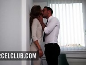 Dream Secretary In Paris Pounded At The Office - HD