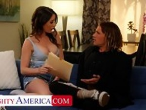NAUGHTY AMERICA Legal Aid Laid W Bubble Butt Babe - HD